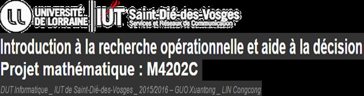 Projet M4202C